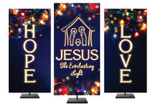 Advent Christmas Banners Series Church Banners