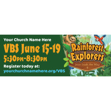 Rainforest Theme Banners