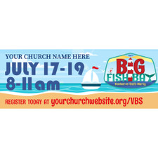 Big Fish Theme Banners