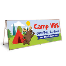 Camp Theme Banners