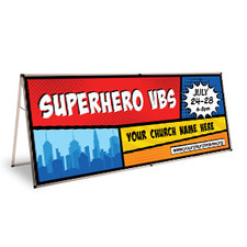 Comic Book Theme Banners