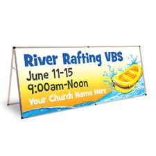 River Rafting Theme Banners