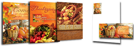 Thanksgiving Church Bulletins