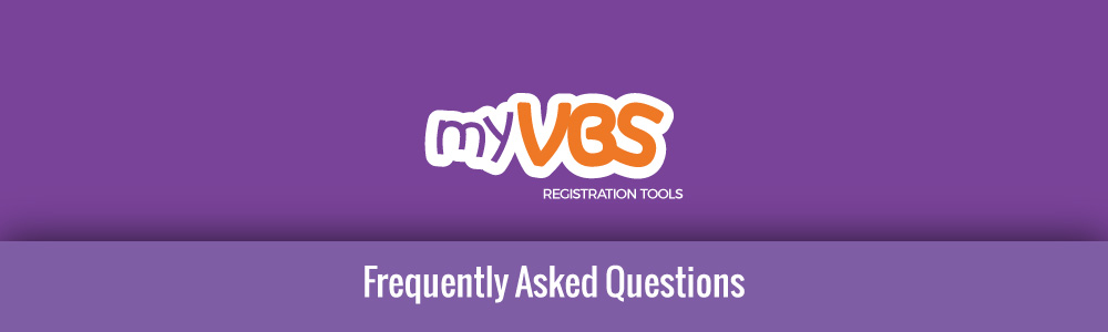 MyVBS Frequently Asked Questions FAQ