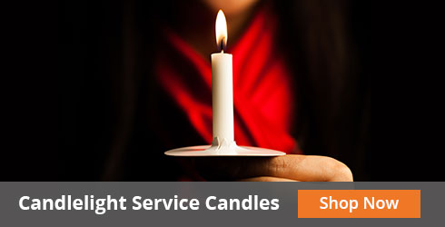 candlelight service candles