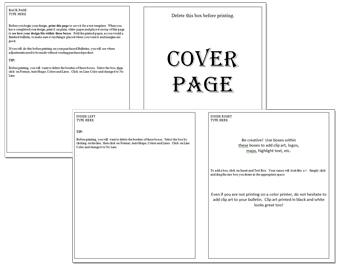 event program template publisher