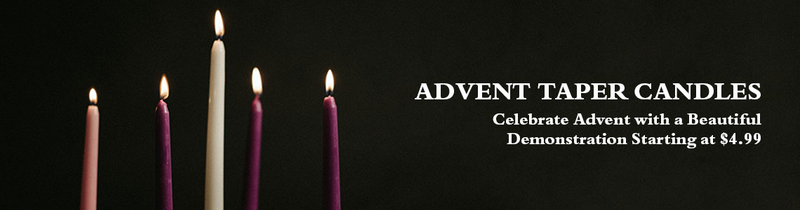 Advent Church Candles