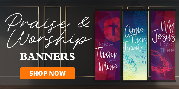 Shop Praise & Worship Banners