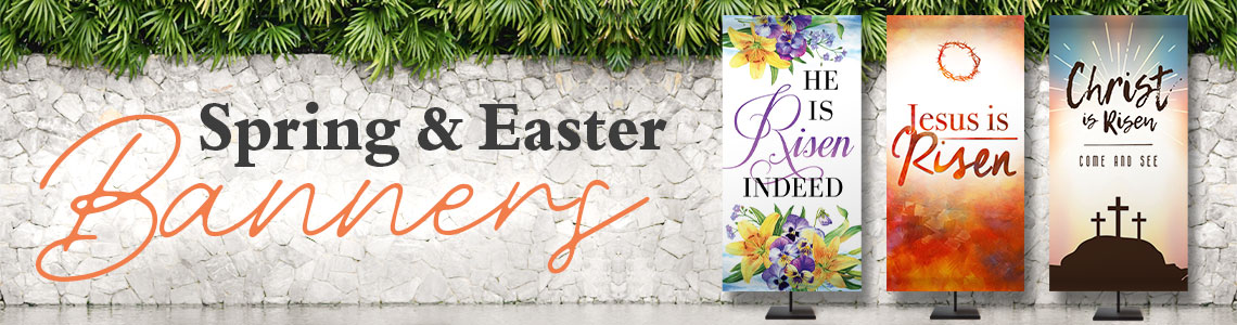 Spring and Easter Banners