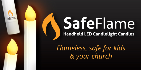 SafeFlame - Flameless, Safe For Kids & Your Church