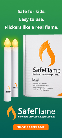 SafeFlame LED Candles