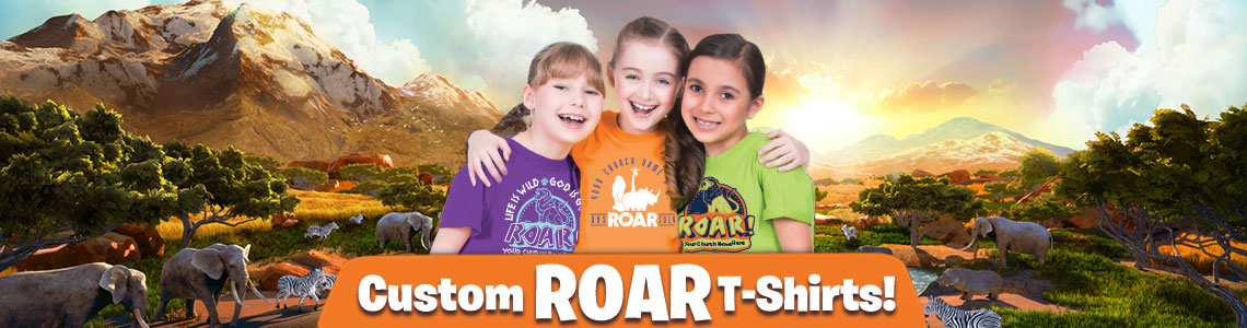 Custom Roar VBS T-Shirts