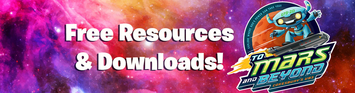 To Mars and Beyond VBS 2019 | Free Resources | Concordia Supply