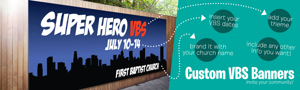 VBS Church Banners