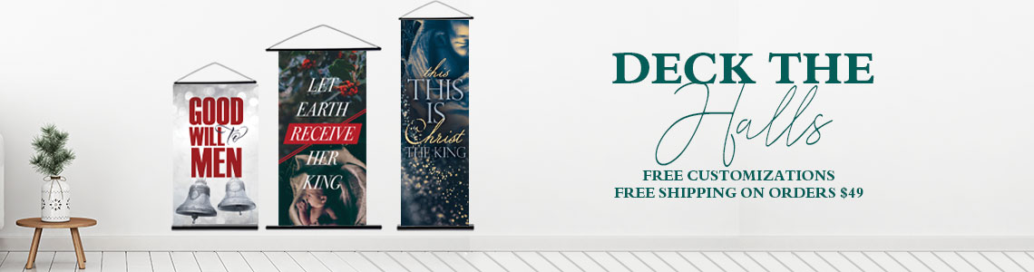Christmas Church Banner