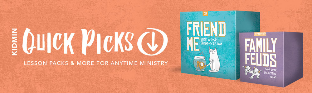 kidmin quickpicks