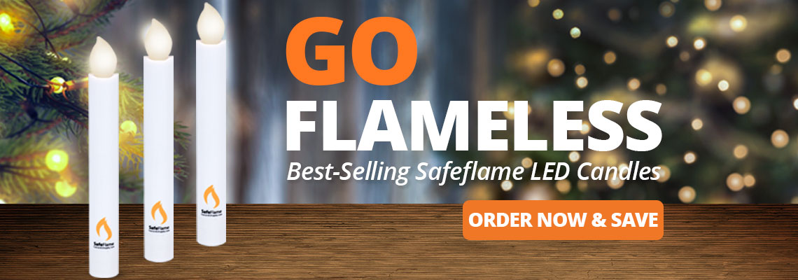 Safeflame LED Battery Candle
