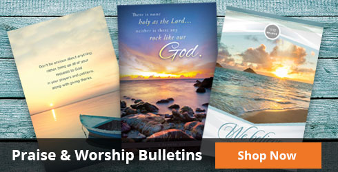 Shop Church Bulletins
