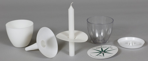 diy candle wax catcher. Candlelight Drip Protectors  Holders Candle Service Candles