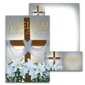 Easter Bulletin Set: Alleluia! - A4045