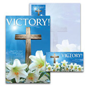 Easter Bulletin Set: Victory! - A4613