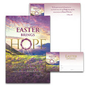 Easter Bulletin Set: Easter Brings Hope - H2945