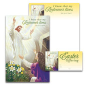 Easter Bulletin Set: My Redeemer Lives - H3706