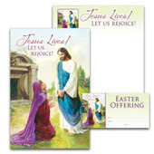 Easter Bulletin Set: Jesus Lives! - H3741