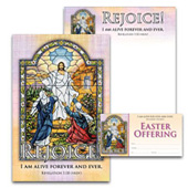 Easter Bulletin Set: Rejoice! - H3916