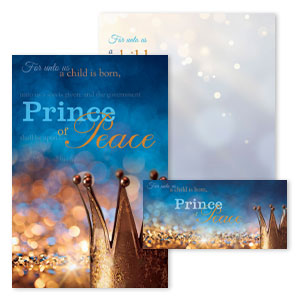 Christmas Bulletin Set: Prince of Peace - A4373