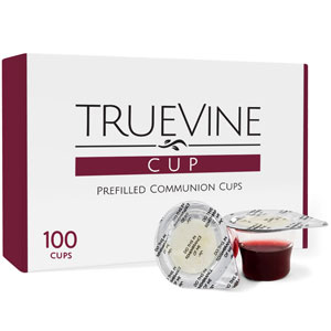 TrueVine Prefilled Communion Chalices
