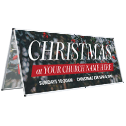 Indoor Christmas Banners