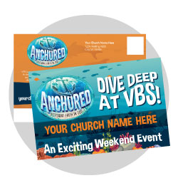 Anchored Custom Postcards