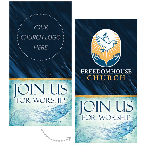 Customize Your Church Banner