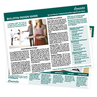 Bulletin Design Guide