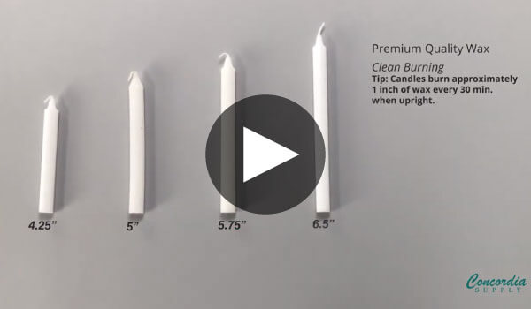Candlelight Comparison Video