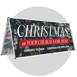Christmas Outdoor Banners