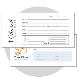 Custom Offering Envelopes