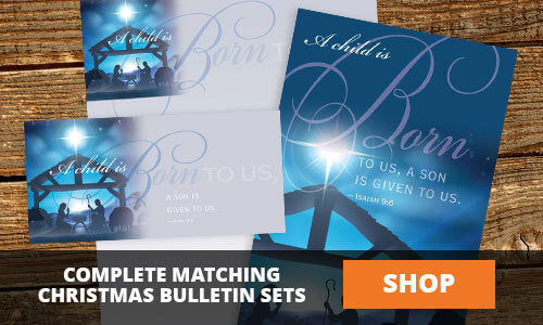 Christmas Matching Bulletin Sets