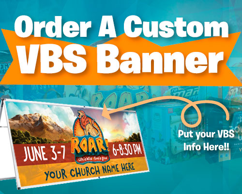 Outdoor VBS Banners