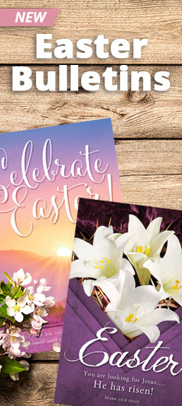 Shop New Easter Bulletins