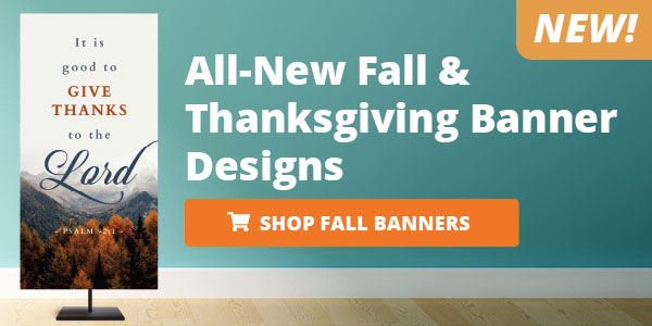New Fall & Thanksgiving 2020 Banners