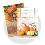 Fall & Thanksgiving Bulletins