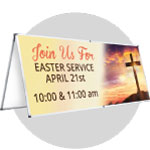 Outdoor Easter Banners