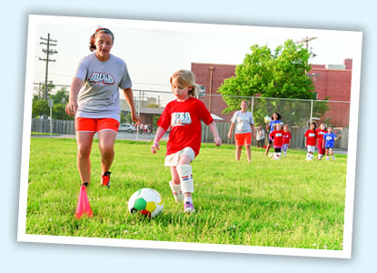 mega sports camp soccer