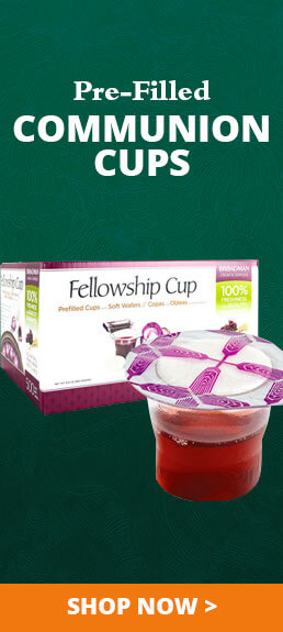 Pre-Filled Communion Cups
