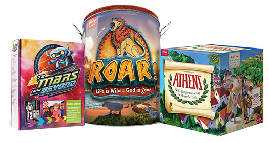 Vbs headquarters vacation bible school programs supplies choose your theme starter kit m4hsunfo