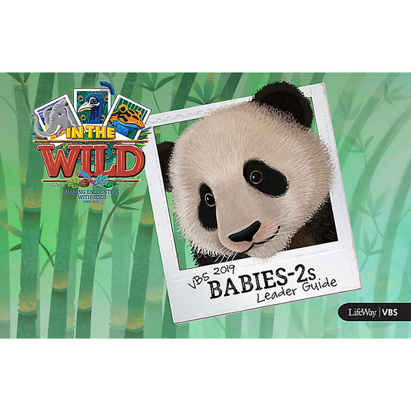 Babies-2S Leader Guide - In The Wild VBS by LifeWay