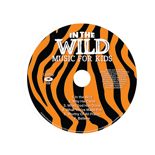 Music For Kids CD Pkg 5 - In The Wild VBS by LifeWay