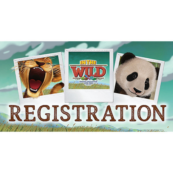 Rotation Signs Pkg  7 - In The Wild VBS by LifeWay